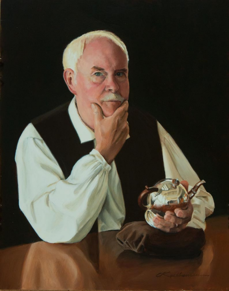 Portrait of Dave Mitton